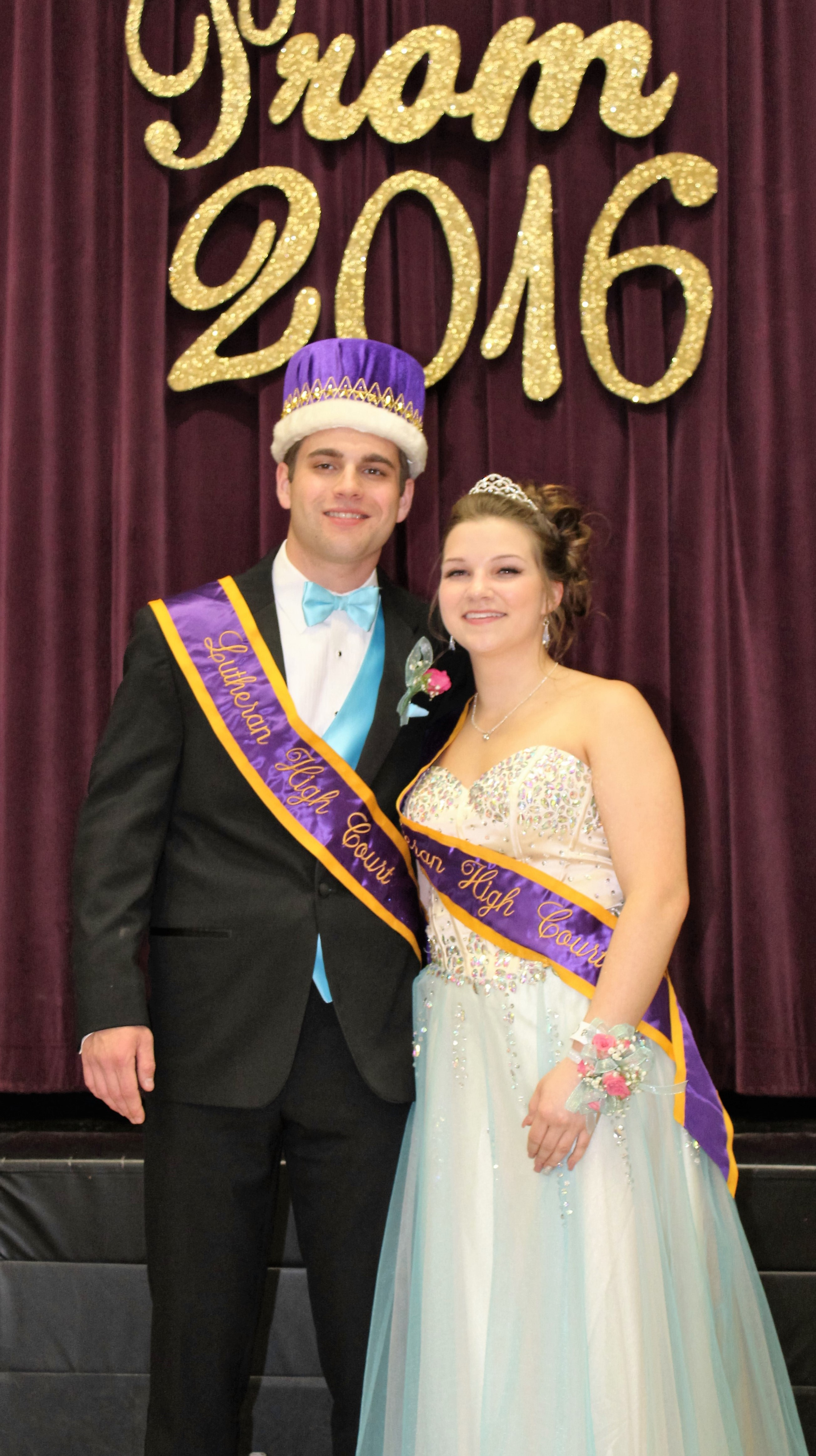 Prom 2016 King and Queen