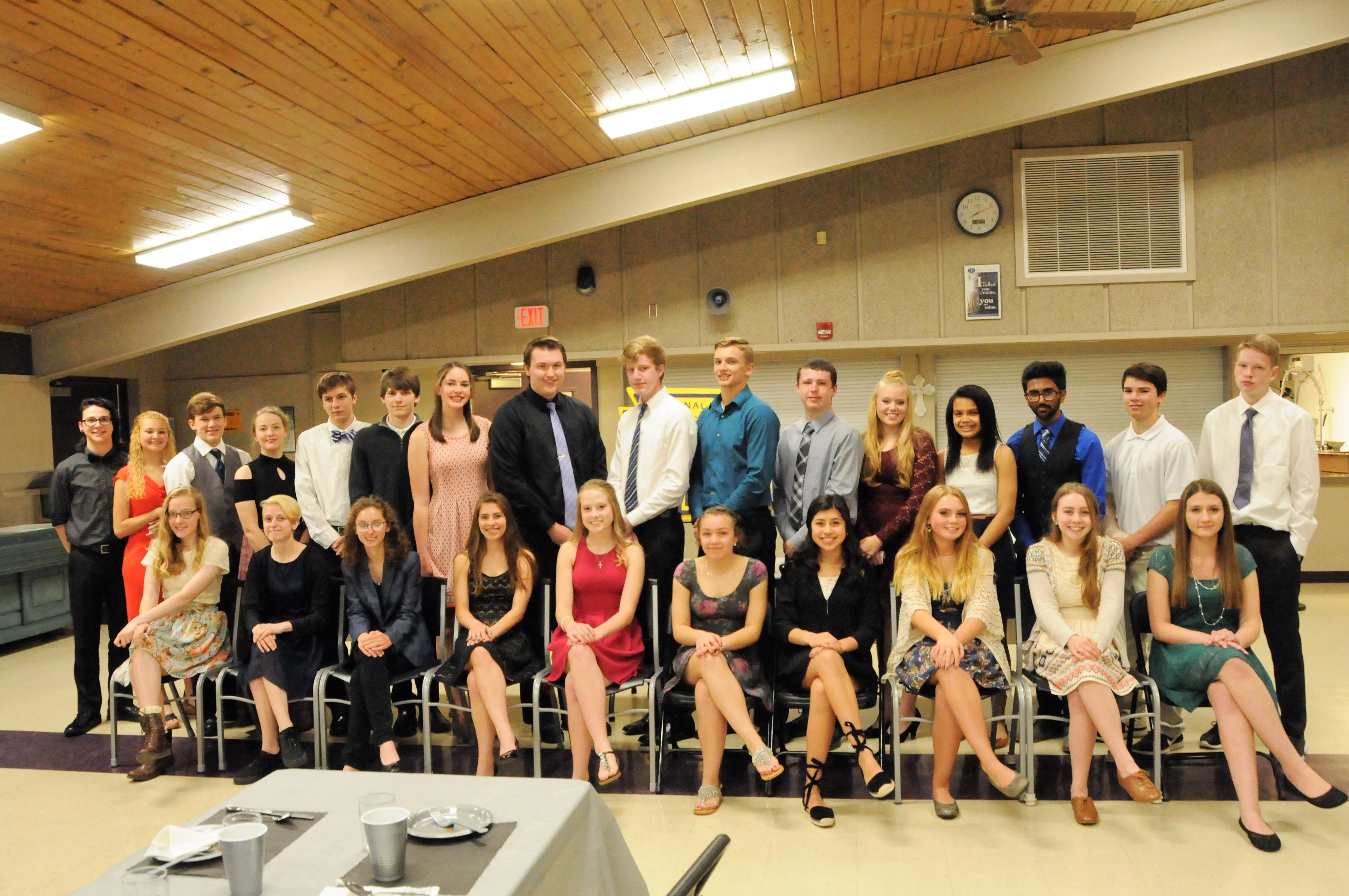 NHS Induction 2017