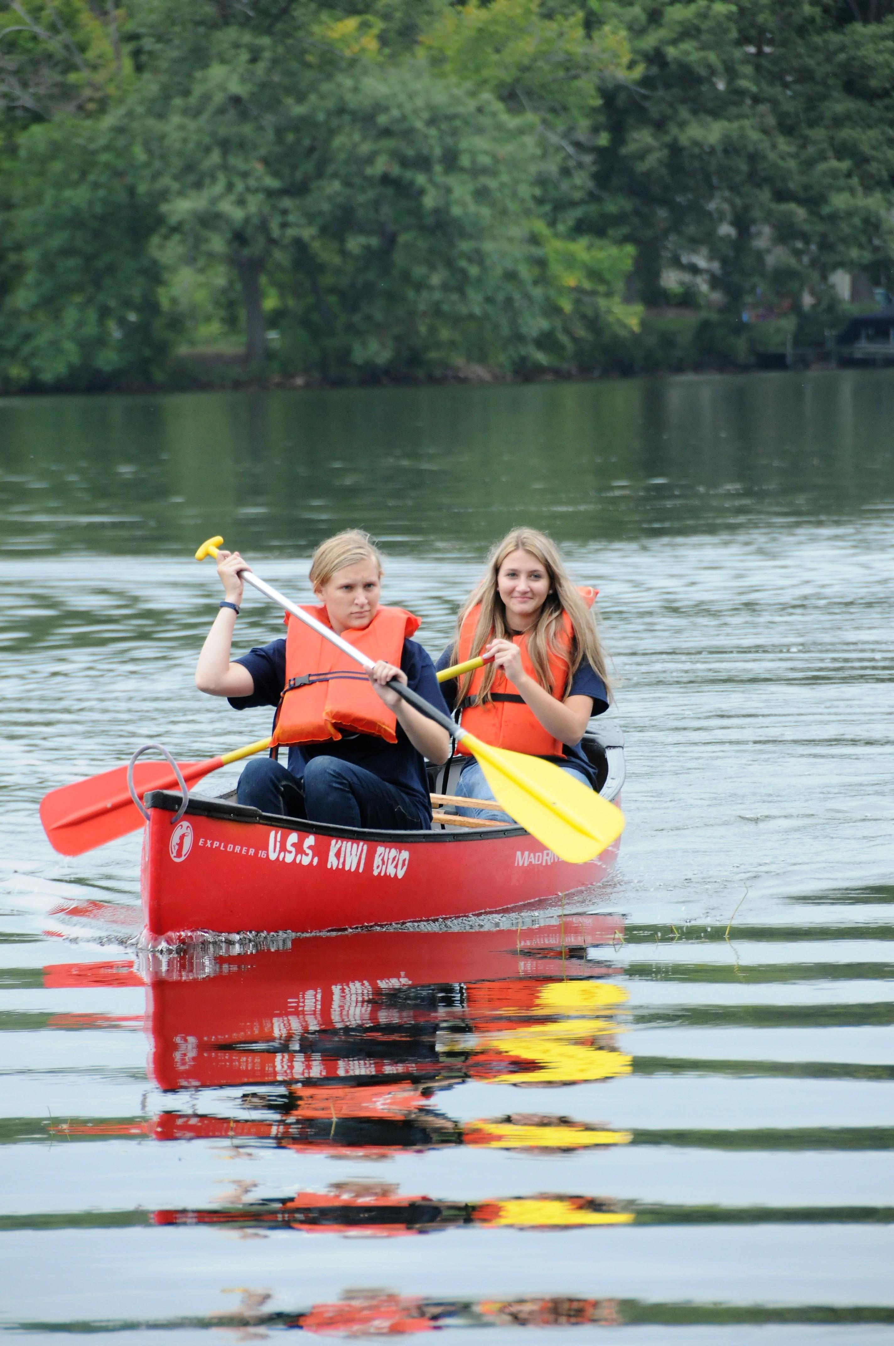 RLHS Canoe - Schmierer and Ready