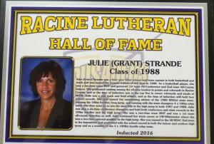 Julie Grant Strande HOF